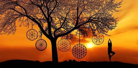 Géométrie Sacrée Le Template Mandalas Cérémonie 4