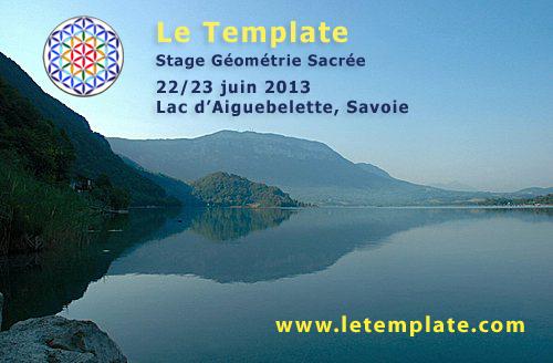 Le Template au Lac d'Aiguebelette