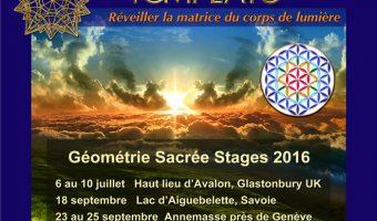 Géométrie Sacrée Le Template Eté-Rentrée 2016