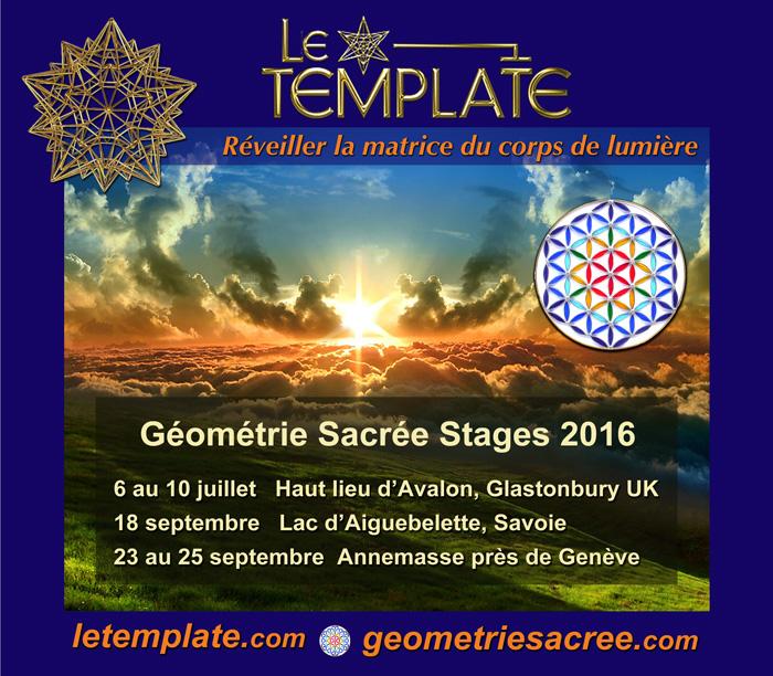 Le Template Stages Géométrie Sacrée
